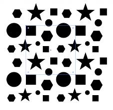イラストレーターでのパターン連続した柄模様のつくり方
