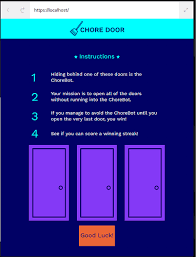 Missing Task Chore Door Please Help Projects