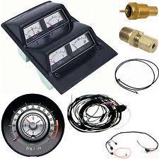 68 camaro gauges oer 1968 camaro console gauges tach 6000 kit mt 68 fits 1968 camaro
