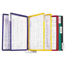 Display Binders With Stand DBL100 Book Books Binders BooksBindersRefills Display 25