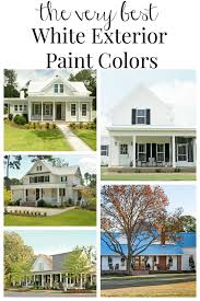 best exterior paint colorsFarmhouse Exterior Paint Color Ideas