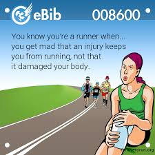 Image result for injured runner humor