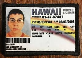 Tactical Patch Funny Military Drivers Usa Morale Movie Mclovin License Ebay Superbad