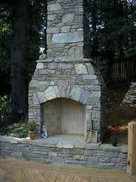 pre made outdoor fireplace colonial outdoor fireplace prefab