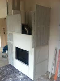 Küchen Design Kamin Aufbau