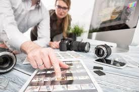 Designer Stock Photo Photographer Journalist Camera Photo Dslr Editing Edit Designer