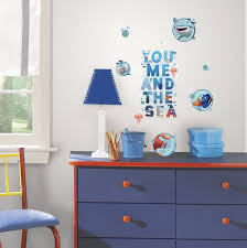 wall decal target best of finding dory and friends l and stick removable wall decals kids