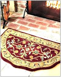 fire ant rugs for fireplace fireproof resistant hearth rug rectangle