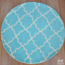 cloud blue round throughout rug ideas 14