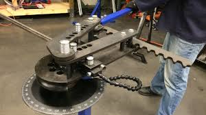 how to use a tubing bender making hoops for a ladder rack on a truck eastwood tubing bender you