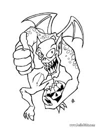 Coloring Scary Halloween Coloring Pages Scary