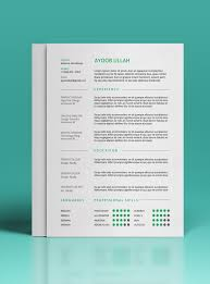 Resume Template 2017 Enchanting 40 Free Resume Templates To Help You Land The Job