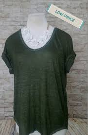 Forever 21 Contemporary Shirt Size Medium Womens Top Ladies