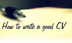 How To Write A Good Cv How To Write A Cv Imperial Group