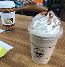 As soon as you walk in, you'll let's begin with the drinks: Tierra Mia Coffee Orange County California
