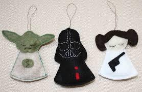 Diy star wars felt ornaments
