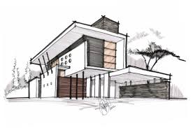 modern home architecture sketches. Perfect Modern Chic Inspiration 11 Modern House Drawings Architecture Drawing Top And Home Sketches E