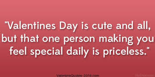 Cute Valentines Quotes Extraordinary Valentines Day Is Cute And Allbut That One Person Making You Feel