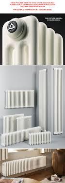 Biasi 4 Column Radiator - 600mm High x 1012mm Wide - 22 Sections TUB4-060