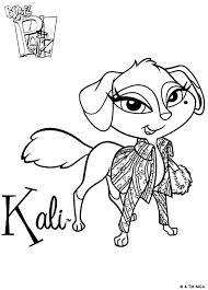 Small Picture Bratz Pets 999 Coloring Pages Fanciful Pets Pinterest