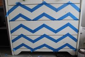 chevron painted furniture. Chevron Painted Dresser Makeover Furniture I