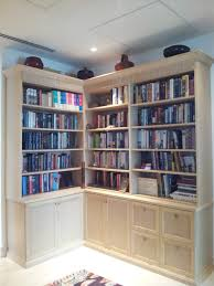 ... Bookshelf, Mesmerizing L Shaped Bookcase Ikea Kallax Shelf White L  Shaped Bookcase With Books And ...