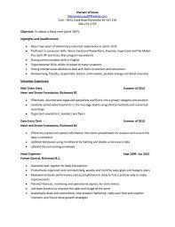 Cover Letter Sales Clerk Job Description Resume Resume Sample Sales