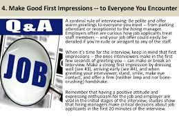 good job interview tips 5 4