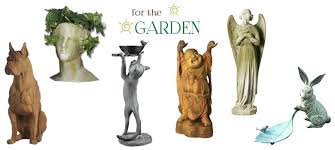 garden statues and fountains