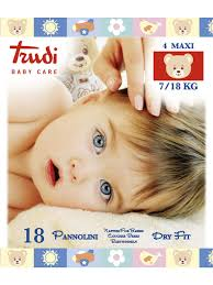 <b>Подгузники детские</b> размер Maxi 7-18 кг., 18 шт. <b>TRUDI</b> 5504306 ...