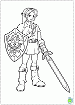 Small Picture The Legend of Zelda coloring pages DinoKidsorg
