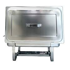 buffet chafing dish set stainless steel chafing buffet food warmer serving dish set with 2 food