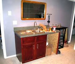 Basement Wet Bar Design Fascinating Wet Bar Cabinets Parentplacesite