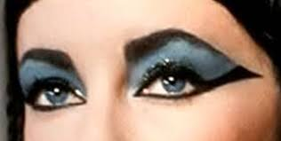 elizabeth taylor cleopatra eyes a simple guide by glamourdaze