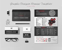 Template Graphic Designer Resume Template Free Psd Download Design