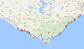 to melbourne via the great ocean road