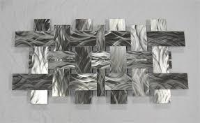 on rectangular metal wall art with modern metal wall art sculpture stainless w1 richard walker