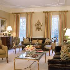 english manor house mclean traditional living room