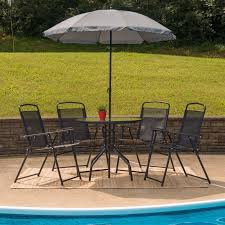 tollette 5 piece sunbrella dining set