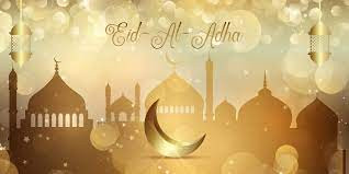 Gold Bokeh Lichter Banner für Eid al Adha 1216170 Vektor Kunst bei Vecteezy