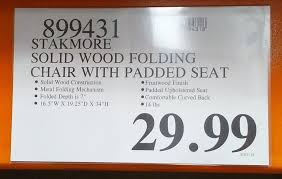 wood folding chairs costco. Contemporary Chairs Deal For The Stakmore Solid Wood Folding Chair At Costco To Chairs D