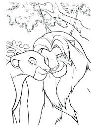 Pride Coloring Pages Lion King 2 Coloring Pages Lion King 2 Simbas Pride Coloring Pages