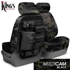 2016 2016 f150 coverking ballistic multi cam front seat covers black
