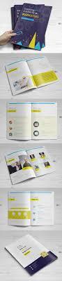 Best Brochure Design 2018 100 Professional Corporate Brochure Templates Design