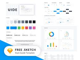 Style Template Uide Kit Sketch Style Guide Template Freebie Download Sketch