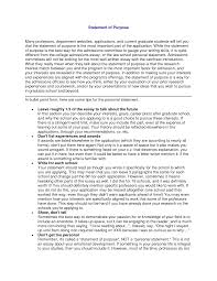 Statement Of Purpose Resume All Purpose Resume Objective Example Of
