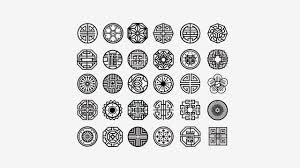 Traditional Symbols Pin By Lisa Chalk On Symbols And Designs Korean Tattoos Tattoos