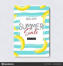 夏の販売バナナ レタリング バッジ デザイン ラベル シーズンのロゴの
