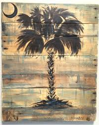 sc palmetto tree palm tree wall art available in by refurbarista on wood palm tree wall art with palmetto tree sc palmetto tree palm tree art rustic wall decor