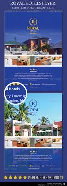 royal hotels flyer template resorts a hotel and beach chairs royal hotels flyer template